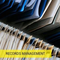 records management service